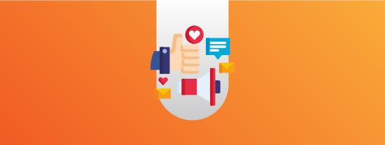 Comunicação direta com colaboradores e clientes para orientação, agradecimento e apoio