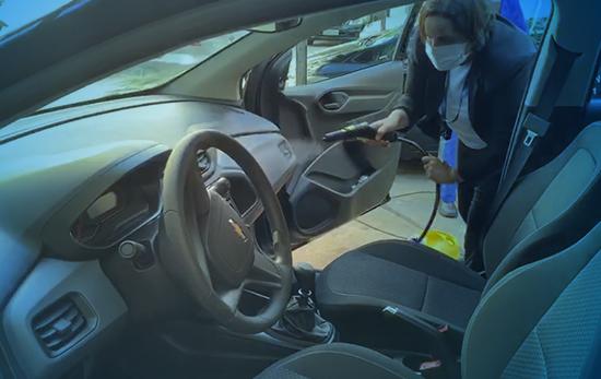 Desinfecção de Veículos