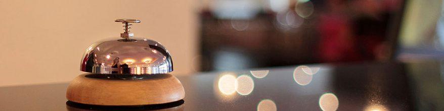 Serviços de Recepção e Segurança para Hotéis