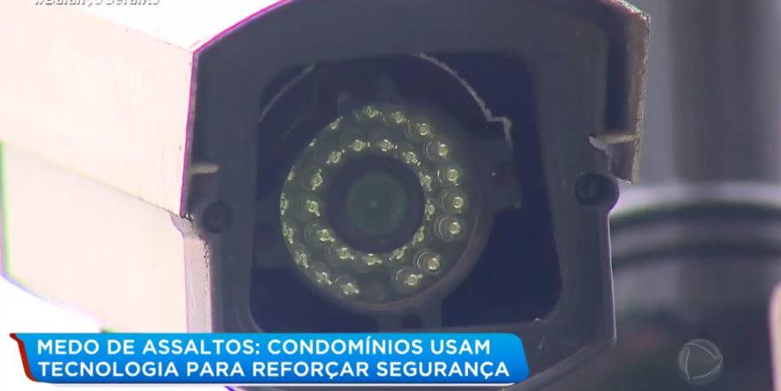 Entrevista sobre o mercado de câmeras de segurança nos condomínios.