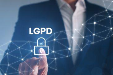 Lei Geral de Proteção de Dados e Segurança estão lado a lado.