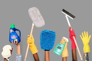 5 dicas para manter a casa limpa e desinfectada